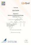 Sample Certificate - 2