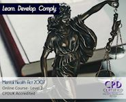 Mental Health Act 2007 - Online Course - Online CPD Course - The Mandatory Training Group UK -