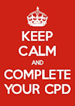 Keep calm and complete your CPD