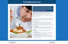Food safety and hygiene slide
