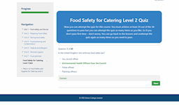 Food safety and hygiene quiz