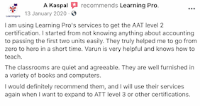 Learning Pro review
