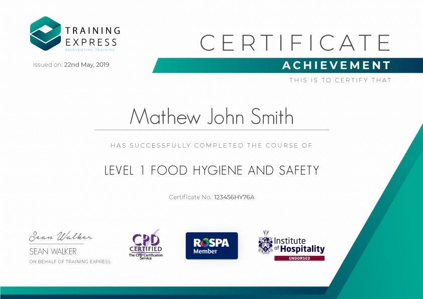 Online Food Hygiene Level 1 And 2 Course Reed Co Uk