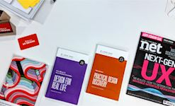 Book recommendations at The School of UX course