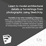 Modelling with photography - back advert