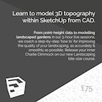 Modelling topography using Sketchup 02