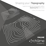 Modelling topography using Sketchup 01