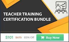 Pack of 10 - Teacher Training Certification Bundle