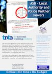 ASB – Police Partner Powers Flyer