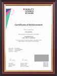 ABC Awards Endorsed Certificate Sample