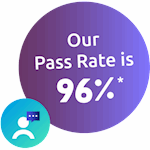 Our CIPD pass rate is 96%