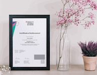 ABC Awards Sample Certificate