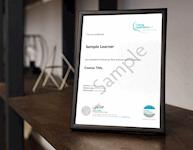 TQUK Certificate Sample