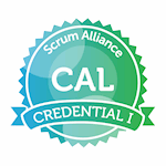 Certified Agile Leadership ® (CAL) certification badge