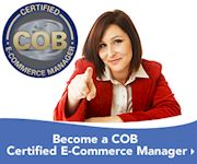COB Certified E-Commerce Manager E-Learning