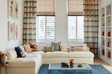 Interior Design Curtain & Blinds