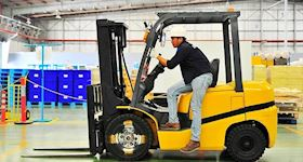Forklift Safety Training - Industrial Counterbalance Lift Trucks Interactive Training