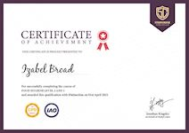 Certificate of Safeguarding Officer