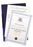 Legal Secretaries Diploma Certificate