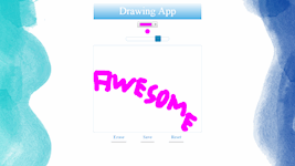 Drawing App (HTML, CSS, jQuery & jQuery UI, Canvas, HTML5 Local Storage)