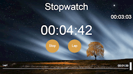 Stopwatch App (HTML, CSS, jQuery & Bootstrap)