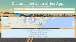Distance Between Cities Website (HTML. CSS, jQuery, Google Maps)