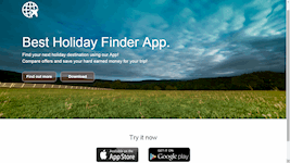 App Landing Page (HTML, CSS & Bootstrap)