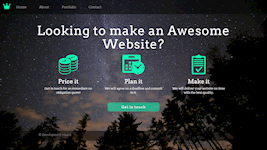 Company Website (HTML, CSS & Bootstrap)
