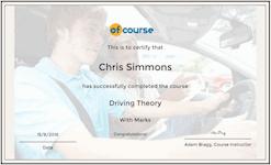 Driving Test Cert
