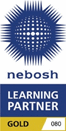 NEBOSH gold partner logo