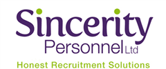 Jobs from Sincerity Personnel