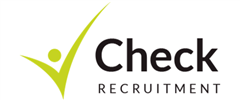 Jobs from Check Recruitment Limited