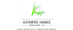 Jobs from Kathryn Hanks Recruitment Limited