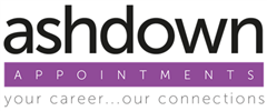 Jobs from Ashdown Appointments