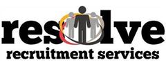 Jobs from Resolve Recruitment Services Ltd