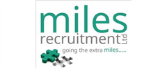 Jobs from Miles Recruitment Ltd