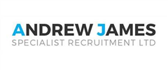 Jobs from Andrew James Specialist Recruitment Limited