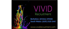 Jobs from VIVID Recruitment Berkshire and South Wales