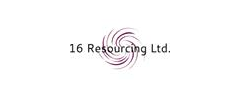 Jobs from 16 Resourcing Ltd