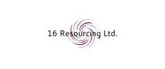 Jobs from 16 Resourcing Ltd