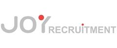 Jobs from Joy Recruitment Ltd