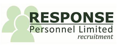 Jobs from Response Personnel Ltd
