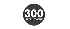 Jobs from 300 recruitment