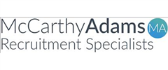 Jobs from McCarthy Adams Recruitment