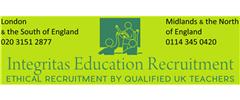 Jobs from INTEGRITAS EDUCATION RECRUITMENT LTD