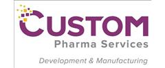 Jobs from Custom Pharma Services