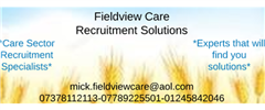 Jobs from Mick Hull T/A Fieldview Care Recruitment Solutions