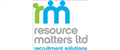 Resource Matters Ltd